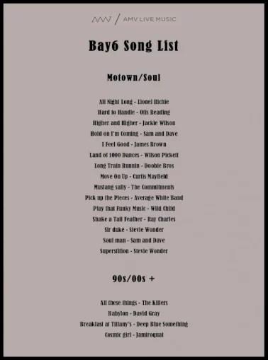 Florian baldus (florianbaldus@gmx.de) thats the main guitar part. Bay6 Song List The Rolling Stones Sweet Home Alabama Lynyrd Skynyrd Title Microsoft Word Bay6 Song List Docx Created Date 2 8 2018 11 36 56 Am Pdf Document
