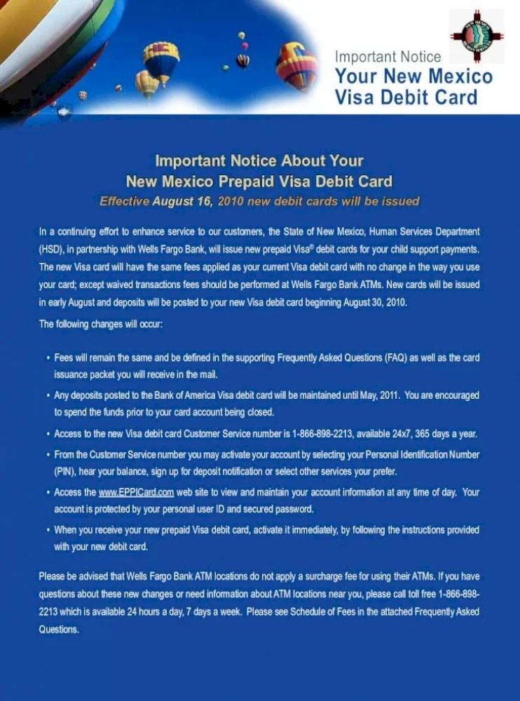 Bank Of America Cse Card : america, Important, Notice, Mexico, Debit, Notification_WE, Document]