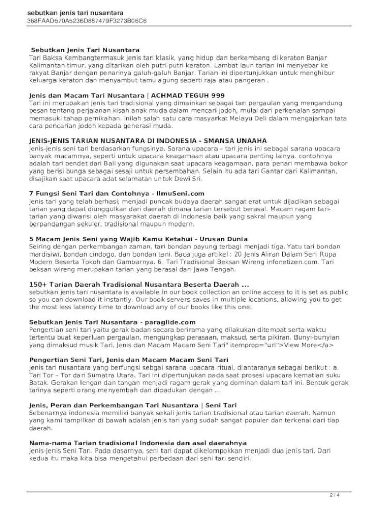 Ragam Gerak Tari Tor Tor : ragam, gerak, Kliping, Nusantara, Pigura