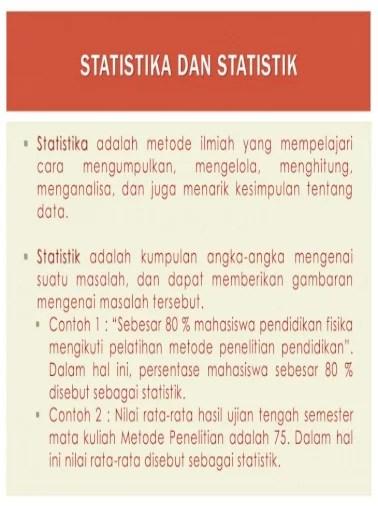 Menarik Kesimpulan Statistik