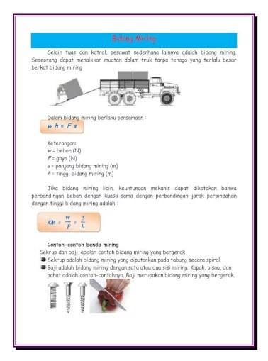 Contoh Bidang Miring : contoh, bidang, miring, Bidang, Miring, Panjang, Sekrup, Adalah, Document]