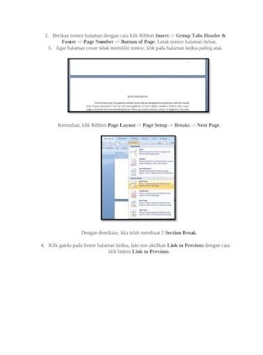 Cara Membuat Halaman Di Word 2007 Untuk Makalah : membuat, halaman, untuk, makalah, Membuat, Format, Number, Makalah, Daftar, Otomatis, Microsoft, Office, [DOCX, Document]