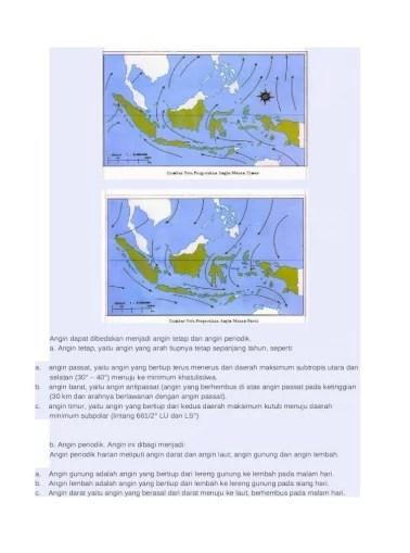 Berdasarkan gambar yang ada pada soal menunjukkan gambar angin muson timur. Angin Muson Barat Dan Angin Moson Timur Docx Document