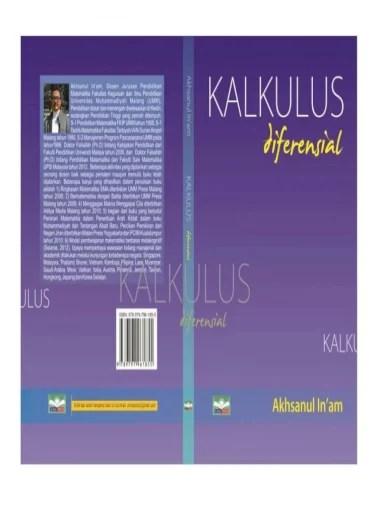 Kalkulus differensial dan integral sangat luas penggunaannya dalam berbagai bidang seperti penentuan maksimum dan minimum. Am Kalkulus Ii K A L K U L U S 1 Hak Cipta C Akhsanul In Am Hak Terbit Pdf Document