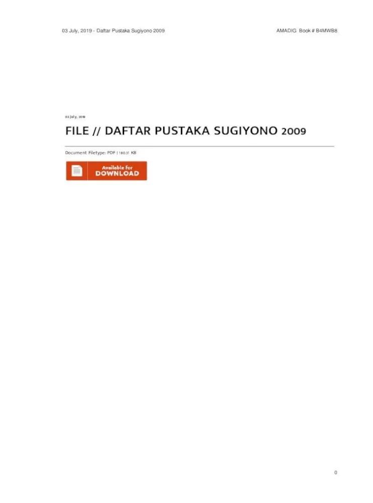 Daftar Pustaka Sugiyono 2009 : daftar, pustaka, sugiyono, Document, Filetype:, 180.31, KBcdn.aman.com/daftar-pustaka-sugiyono-2009.pdf, Daftar, Pustaka, Jurnal, Document]