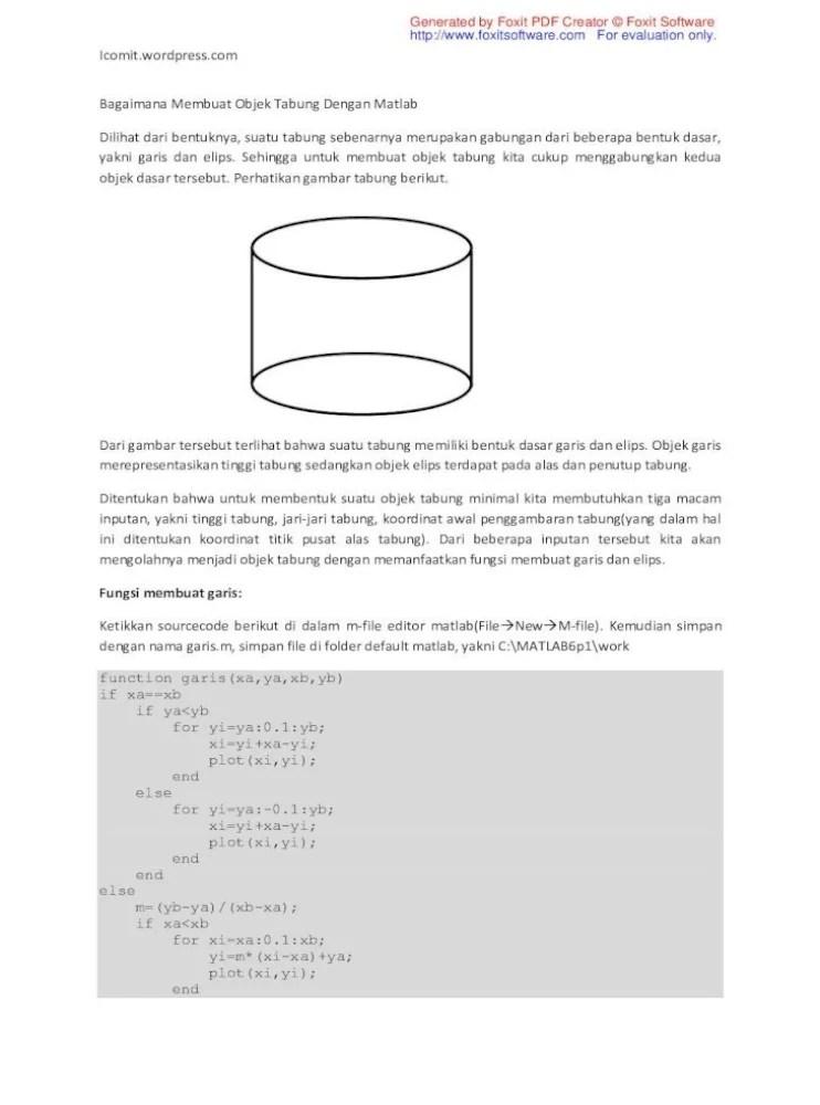 Menggabungkan Pdf Dengan Foxit : menggabungkan, dengan, foxit, Generated, Foxit, Creator, Software, Membuat, Objek, Tabung, Dengan, Matlab, Plot(xi,2*y-yi);, Document]