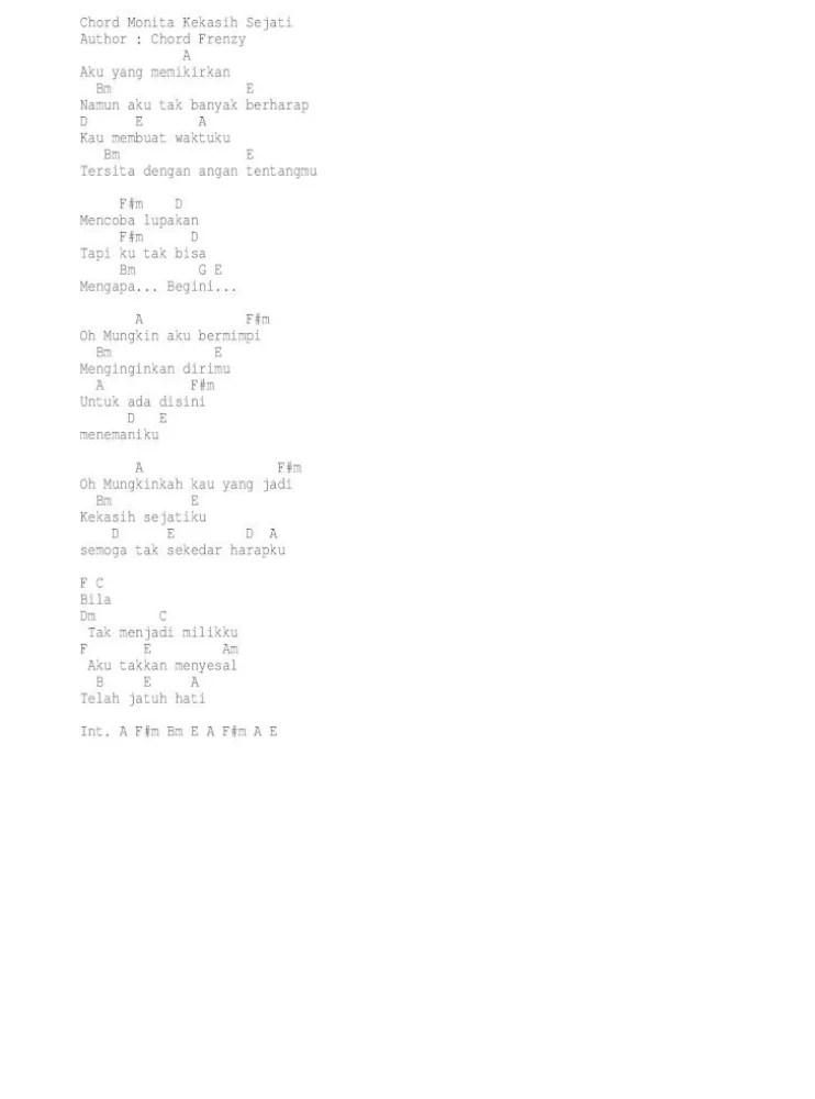 Kekasih Sejati Chord : kekasih, sejati, chord, Monita, Kekasih, Sejati, Document]