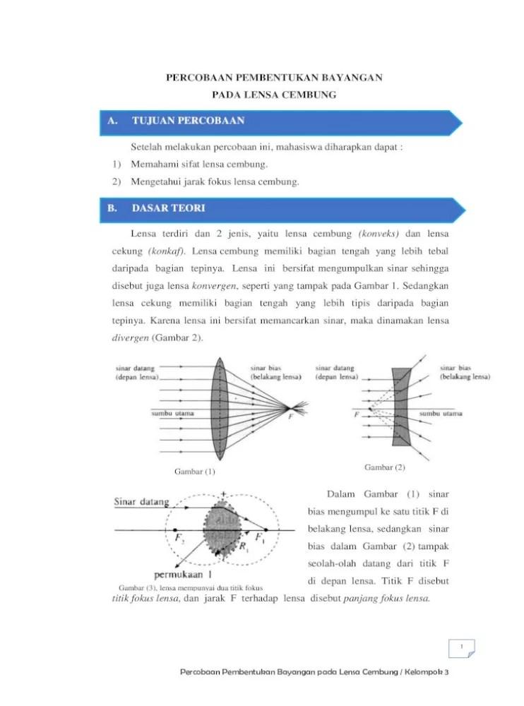 Contoh Lensa Cekung : contoh, lensa, cekung, Pembentukan, Bayangan, Lensa, Cekung, Ruang