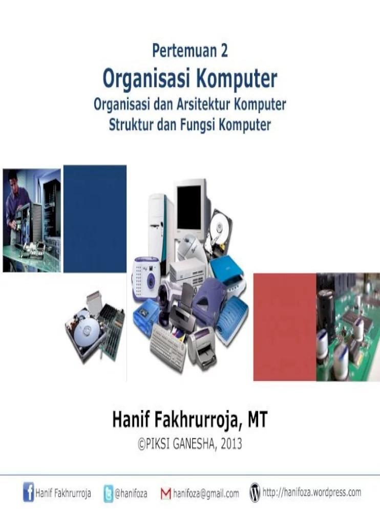Definisi, Komponen, Fungsi - Perangkat Keras Komputer