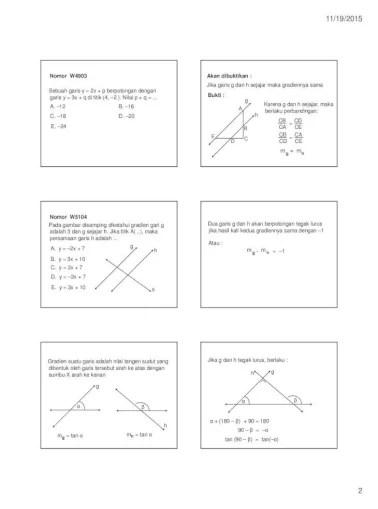Kedudukan Dua Garis : kedudukan, garis, Kedudukan, Garis, Belajar, Matematika, Just·, 11/19/2015, Materi, Document]