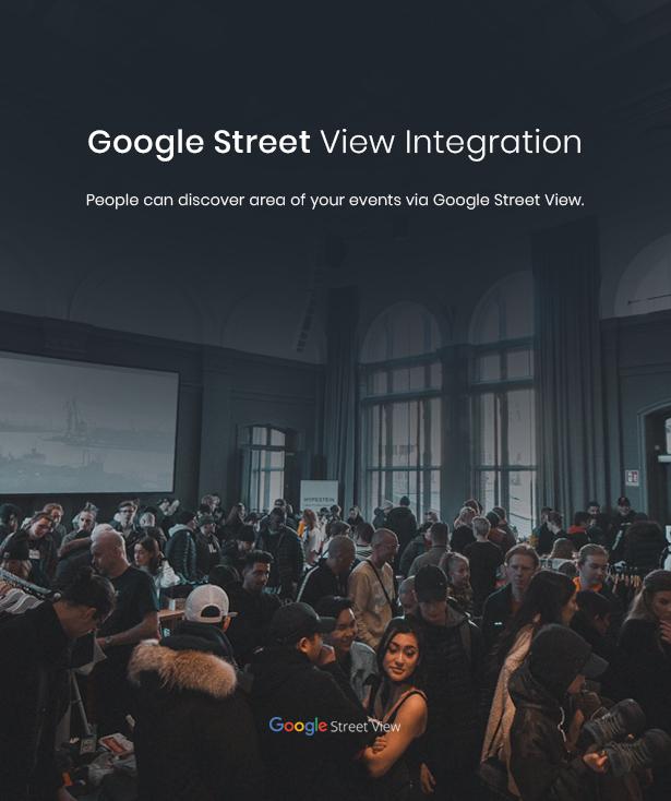 WordPress google street view theme