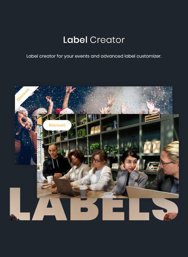 WordPress label theme