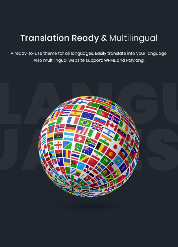 WordPress event theme translation