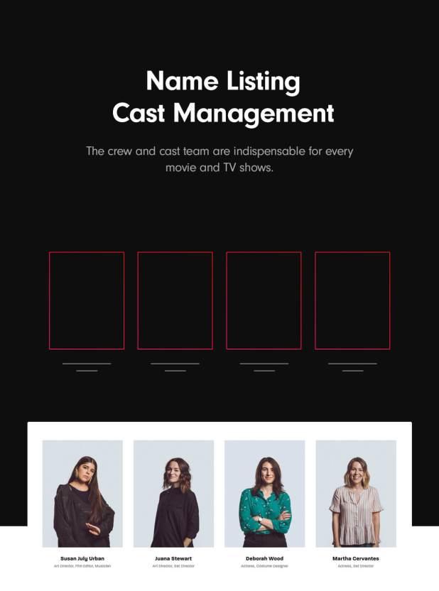 Cast management