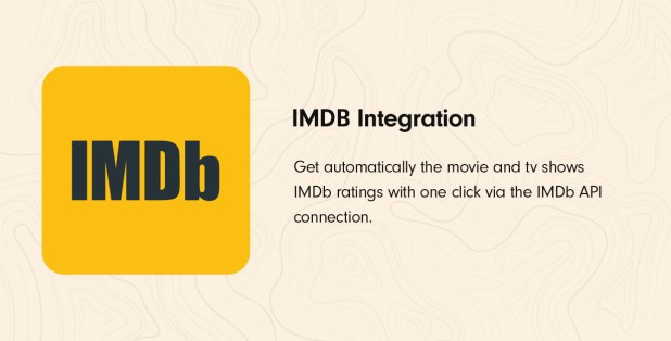 IMDb Integration