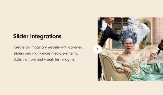 Slider integrations