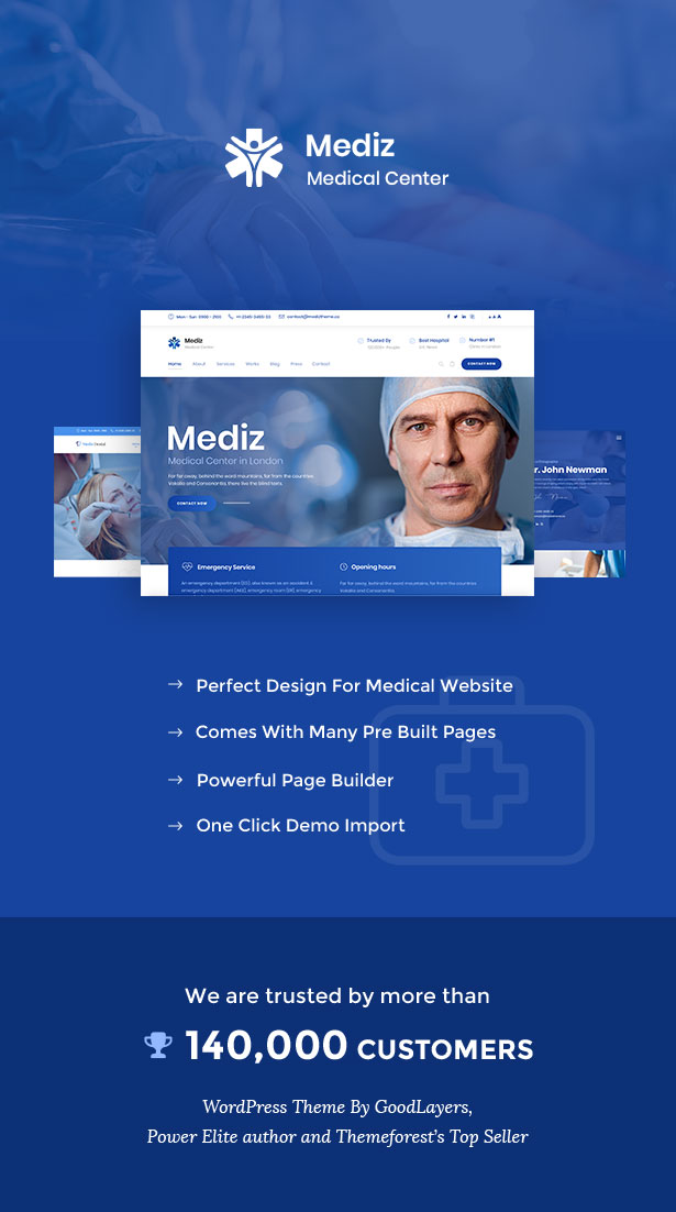 Mediz - Medical WordPress - 1