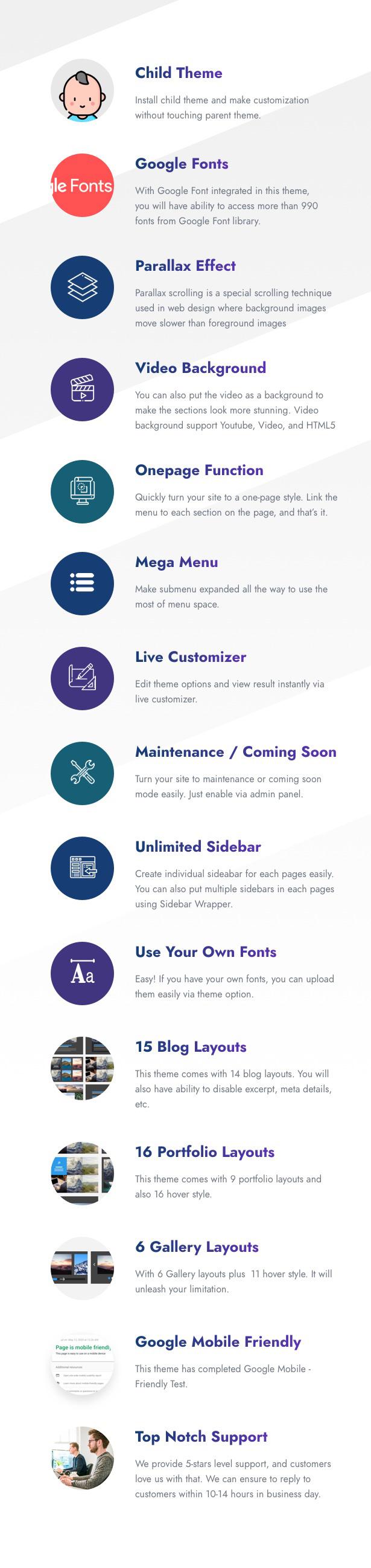Infinite - Multipurpose WordPress Theme - 25