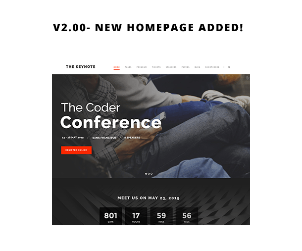 The Keynote - Conference / Event WordPress - 2