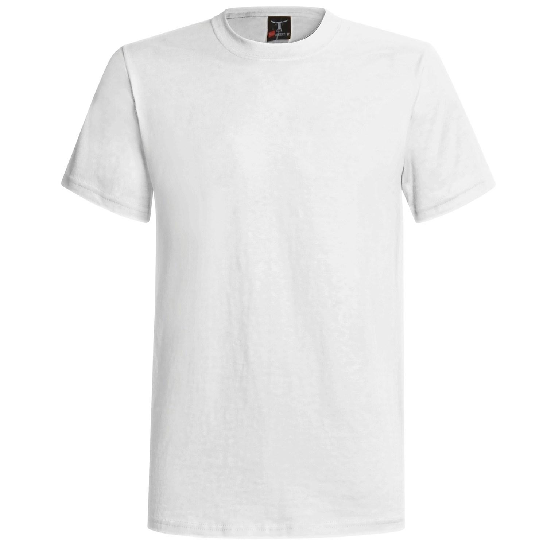 Classic White TShirt  eCommerce Product Catalog Demo