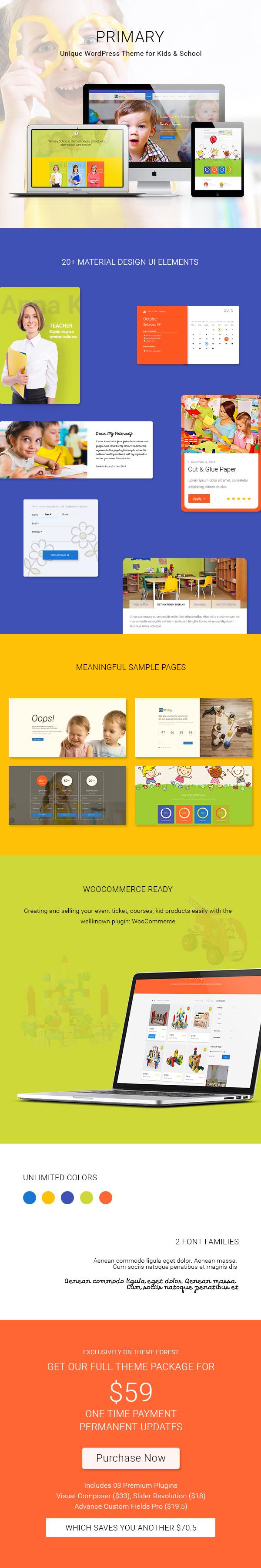pimary wordpress theme