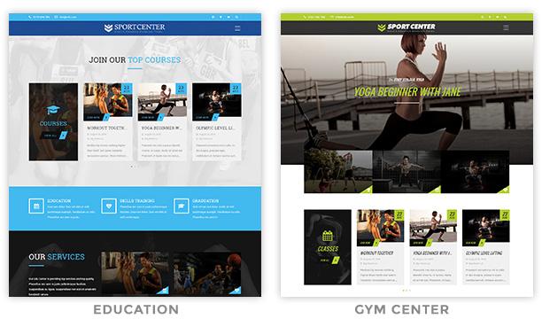 Wordpress sport Theme