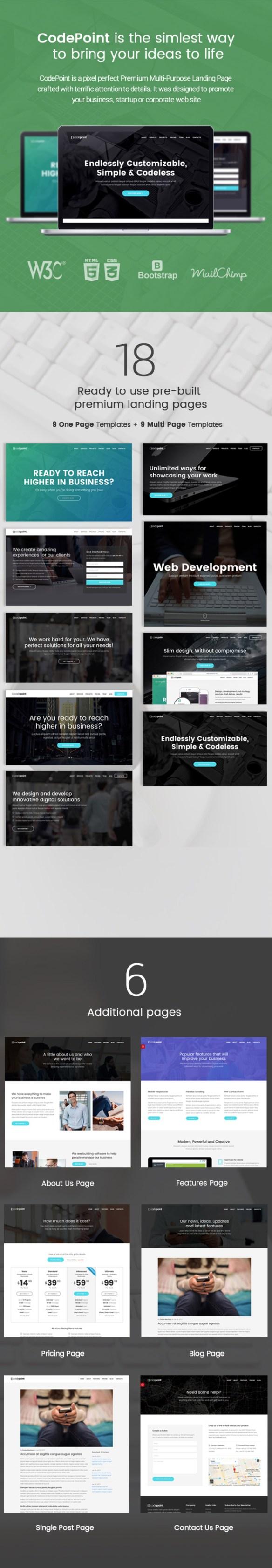 codepoint wordpress theme