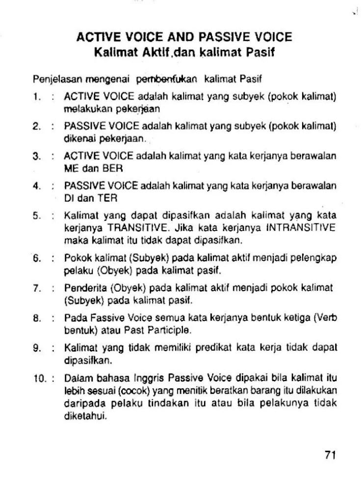 Contoh Kalimat Passive : contoh, kalimat, passive, Kalimat, Active, Belajar