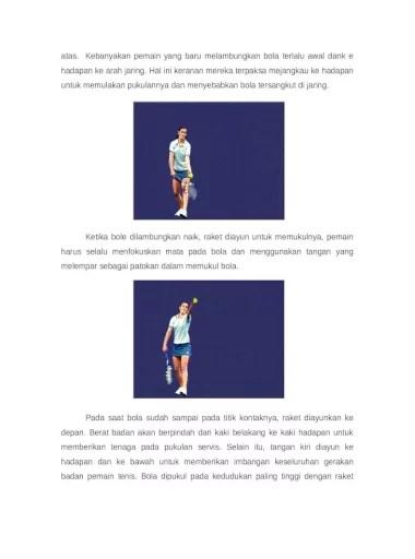 Servis Tangan Bawah : servis, tangan, bawah, Pukulan, Servis, Tenis