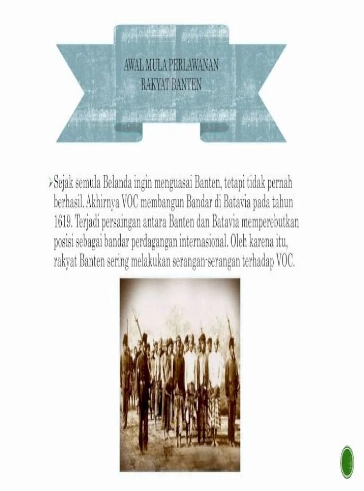 Perlawanan Rakyat Banten Terhadap Voc : perlawanan, rakyat, banten, terhadap, Perlawanan, Kerajaan, Banten, Terhadap, Belajar