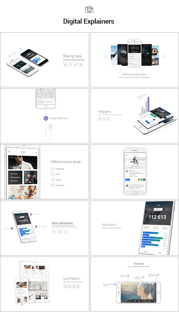 iTouch 2   App Promo Mock-Up Kit - 10