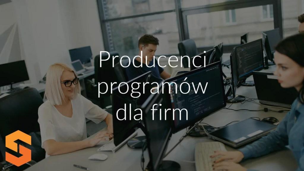 Producenci programów dla firm