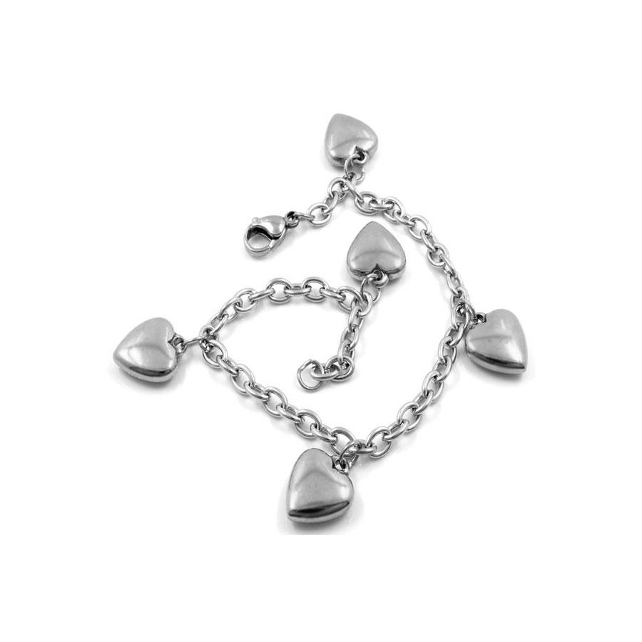 Bracelet With Rubies & Emeralds