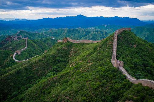 """""""The Great Wall of China at Jinshanling"""" by Severin.stalder - Wikipedia"""