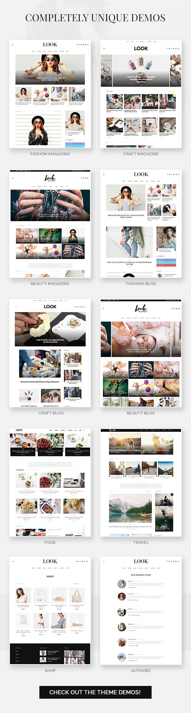 Look: Minimal Magazine and Blog WordPress Theme - 3