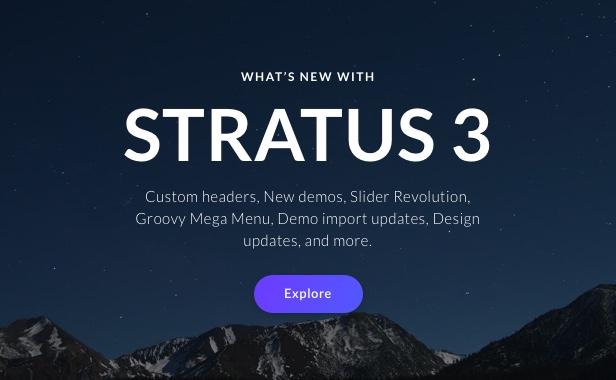 App, SaaS & Software Startup Tech Theme - Stratus - 2