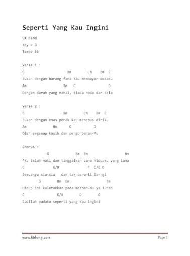 Lirik Bukan Dengan Barang Fana : lirik, bukan, dengan, barang, Seperti, Ingini, Lirik, Chord, Tempo, Verse, Document]