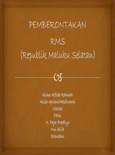 Tujuan Pemberontakan Rms : tujuan, pemberontakan, Pemberontakan, Document]