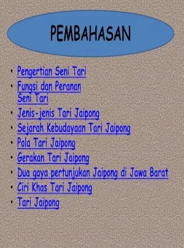 Ppt Seni Tari : Budaya, Jaipong, Presentation, Transcript, Document]