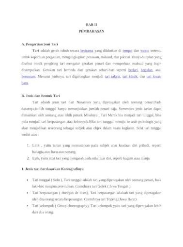 Pengertian Tari Kelompok Nusantara : pengertian, kelompok, nusantara, Makalah, [DOCX, Document]