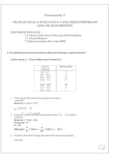 Statistika ekonomi dan bisnis statistika deskriptif source: Ltm Tugas Essay Pert3 4 Docx Pdf Document