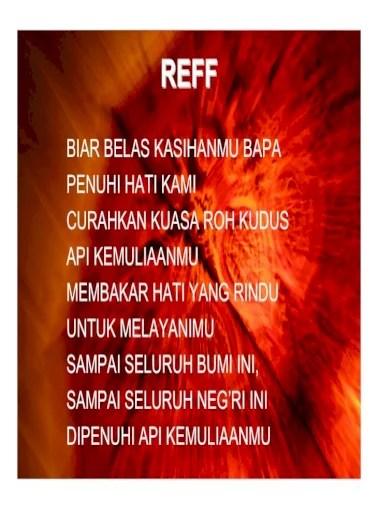 Ku Sembah Kau Tuhan : sembah, tuhan, BERKUMPUL, Efcc.·, Sembah, Tuhan, Kecaplah, Lihatlah, Betapa, Baiknya, Rasakan, Nikmati., Kasih, Setia, Tuhan., Firman-mu, P'lita, Kakiku, Document]