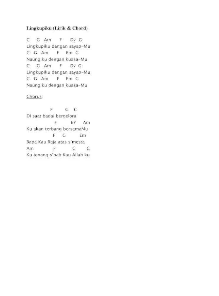 Lirik Lagu Lingkupiku : lirik, lingkupiku, Lingkupiku, Chord, Bersama