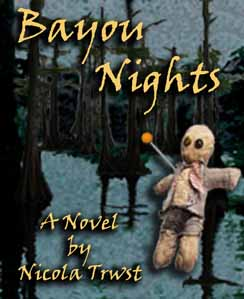 Bayou Nights, a suspense novel by Nicola Trwst