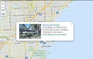 IDX - Map search
