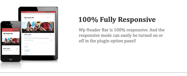 Wp Header Bar - WordPress Notification Bar - 6