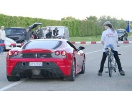 François Gissy Bicycle World Record 207 mph
