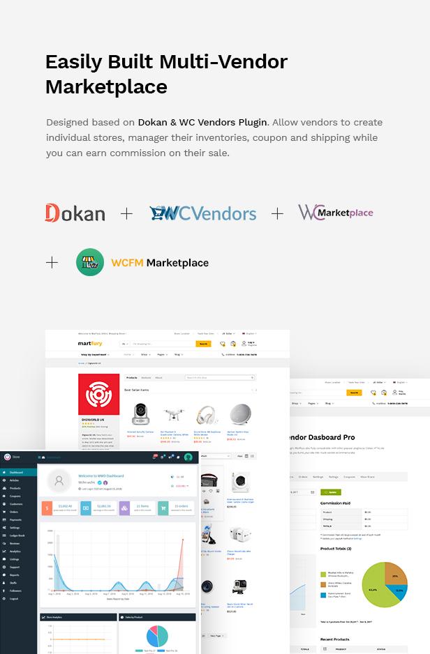 Martfury - WooCommerce Marketplace WordPress Theme - 16