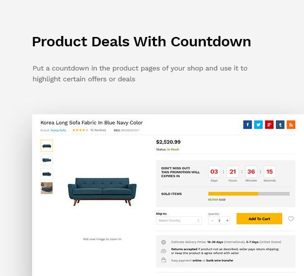 Martfury - WooCommerce Marketplace WordPress Theme - 23