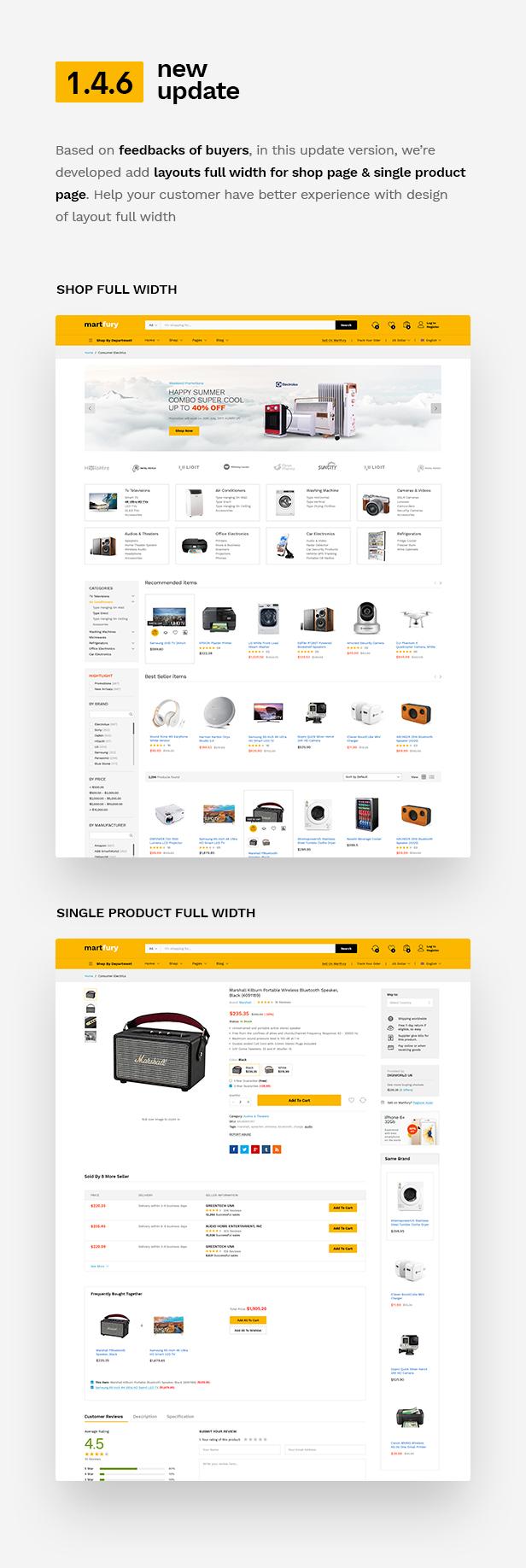 Martfury - WooCommerce Marketplace WordPress Theme - 8
